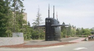 The SSBN's Profile At Deterrent Park.