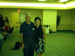 Ken Shang And His Wife, Mari Hattori
