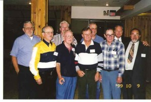 Plankowners attending Northwest Reunion