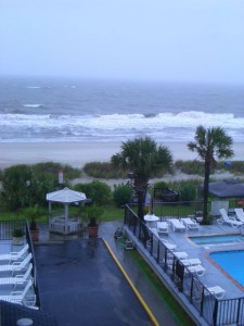 The Weather In Myrtle Beach Wasn't The Best